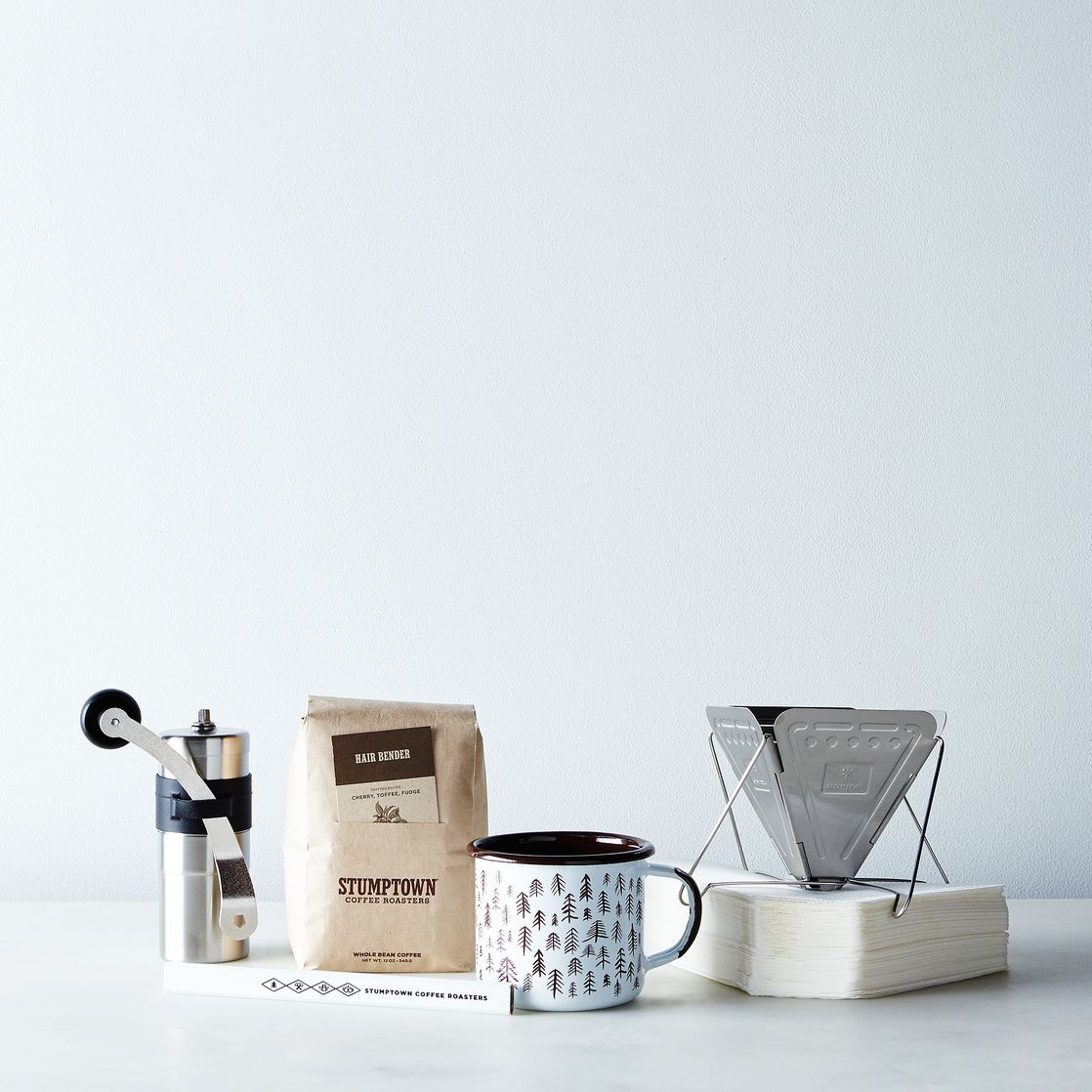 Travel coffee kit from Food52