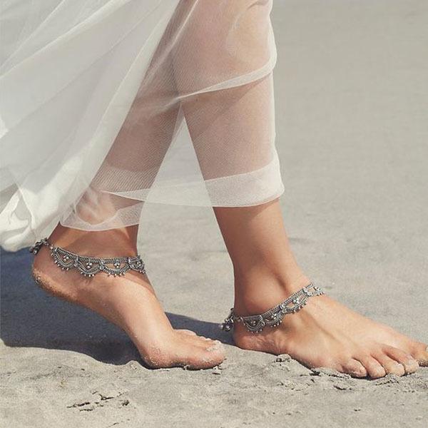 Raindrops Anklet Set