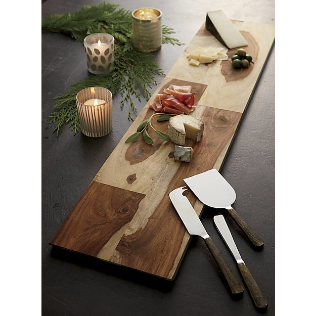 Crate and Barrel Wedding Registry - Palisades Wood Cheese Board