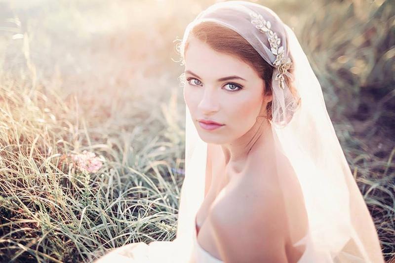 veil with headband