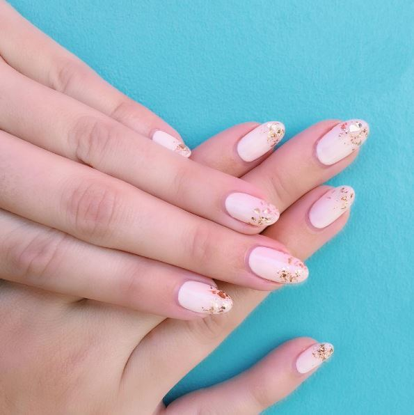Gold Flecked Tips