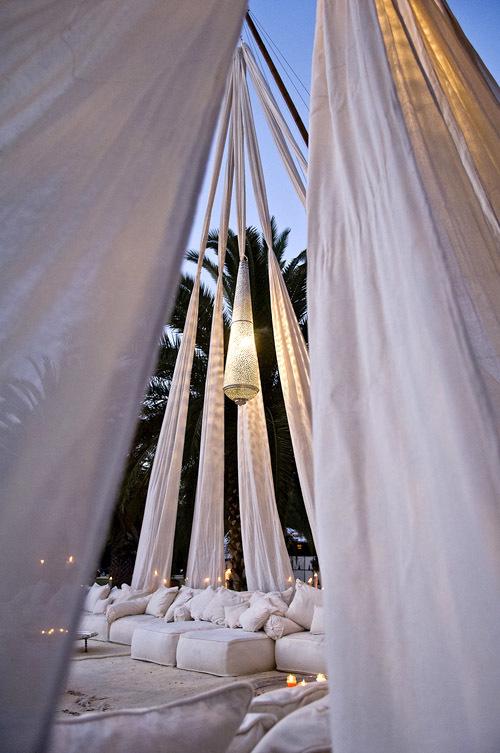 exotic tent wedding
