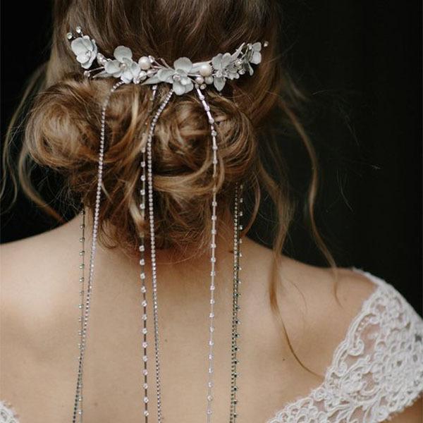 Falling Stars Hair Chain Comb