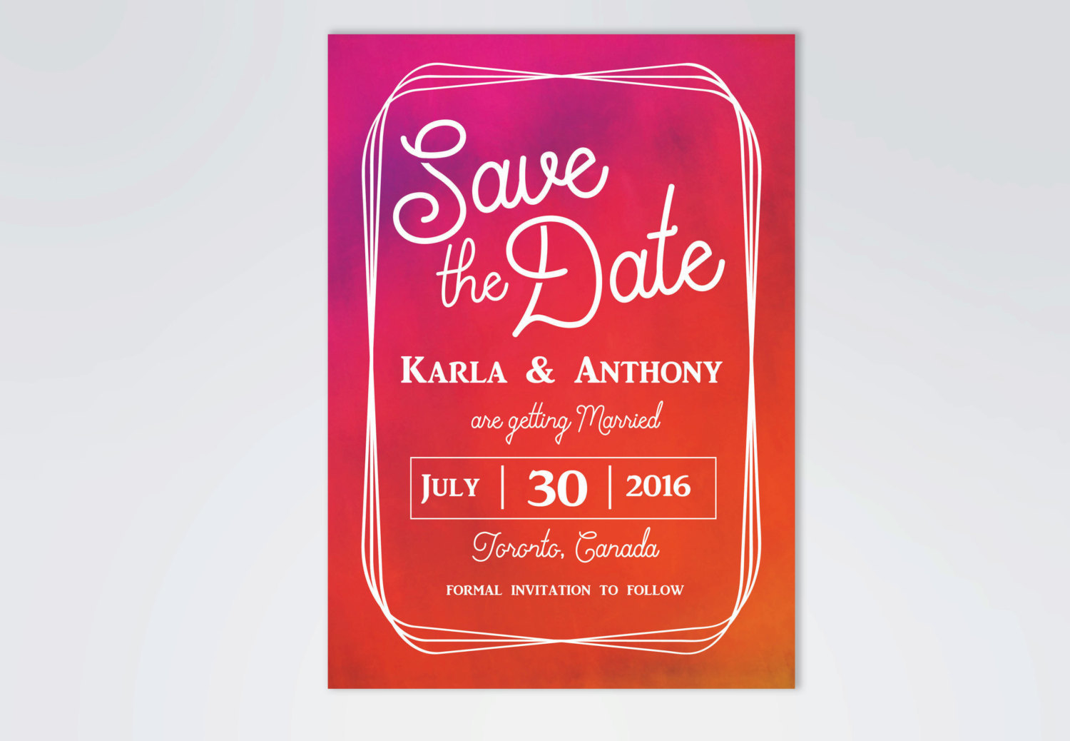 10 Cool Save the Date Ideas for Summer Weddings - mywedding