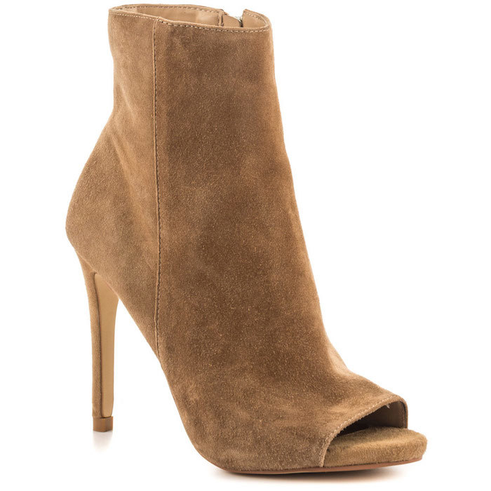 Steve Madden Ladee Taupe Suede