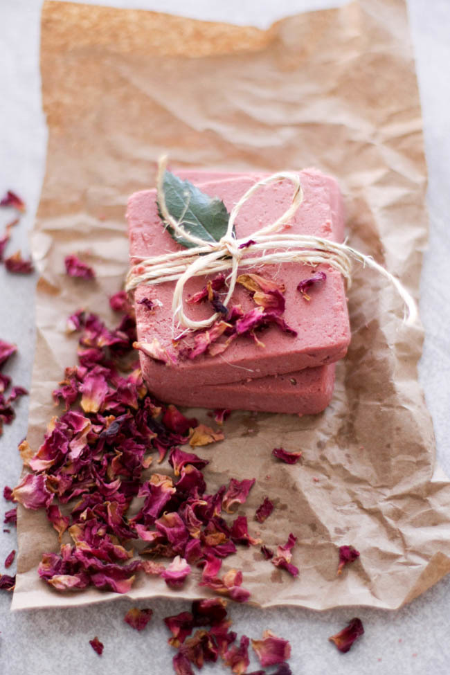 Rosewater & Pink Clay Soap Bars by Hello Glow