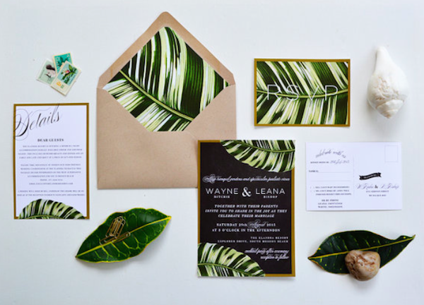 Fern invitations
