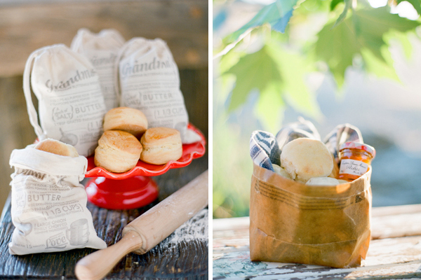 biscuit wedding favors