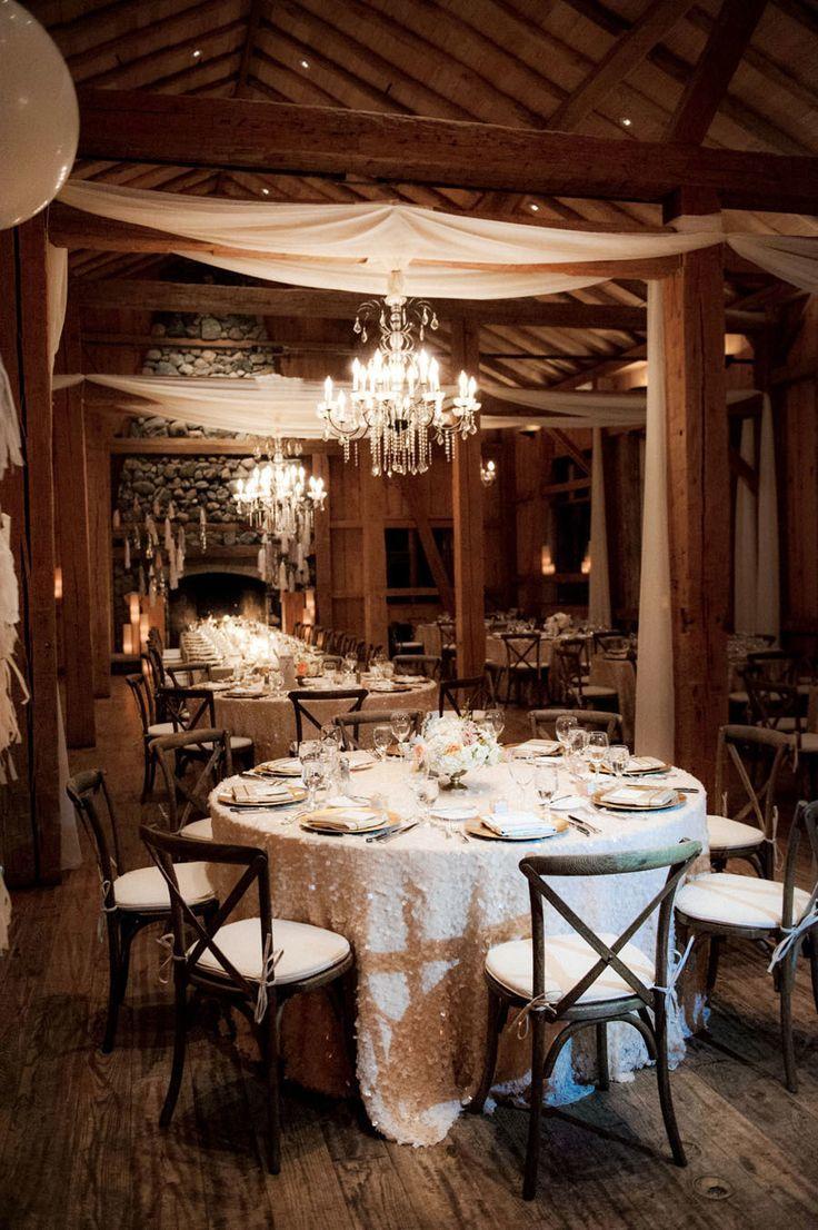 classy cabin wedding