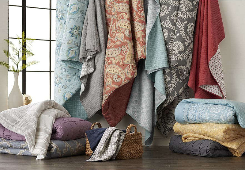 reversible bedding quilt