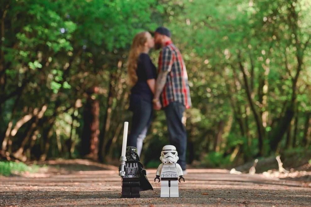 Lego engagement announcement