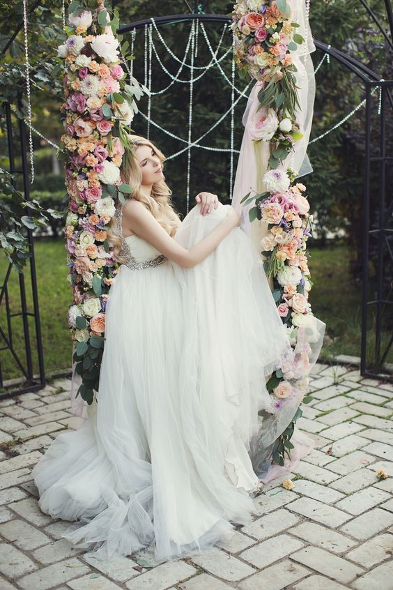 Woodland Wedding Swing