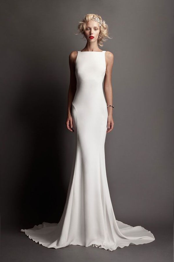 Bateau Sheath Dress
