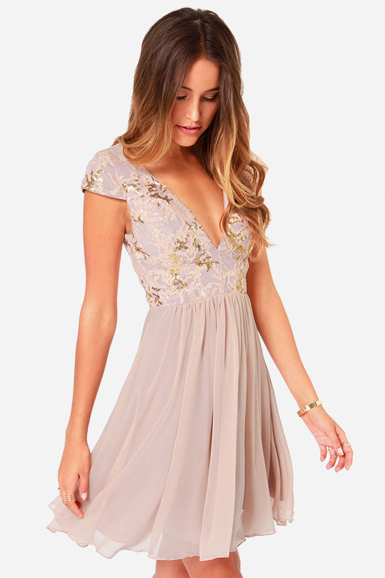 baby doll blush dress