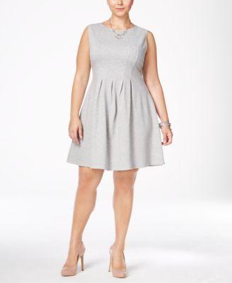 grey aline dress