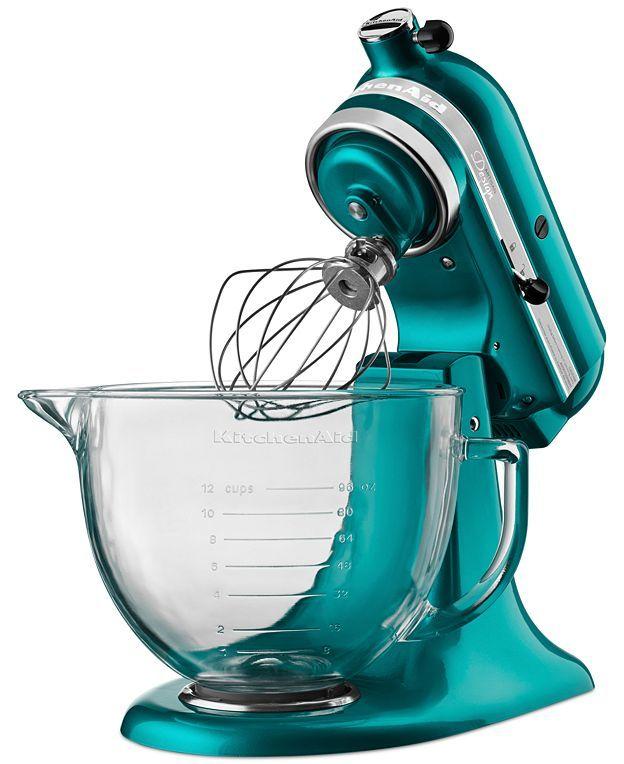 bright teal mixer