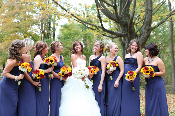 rustic fall bouquets