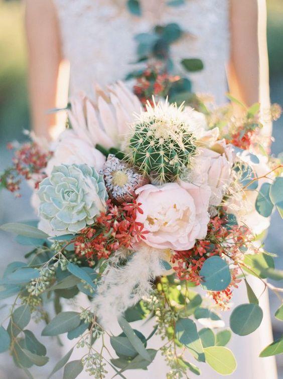 cactus bouquet