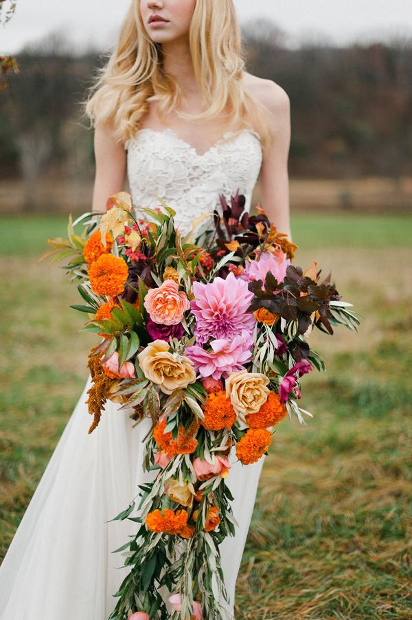giant bridal bouquet