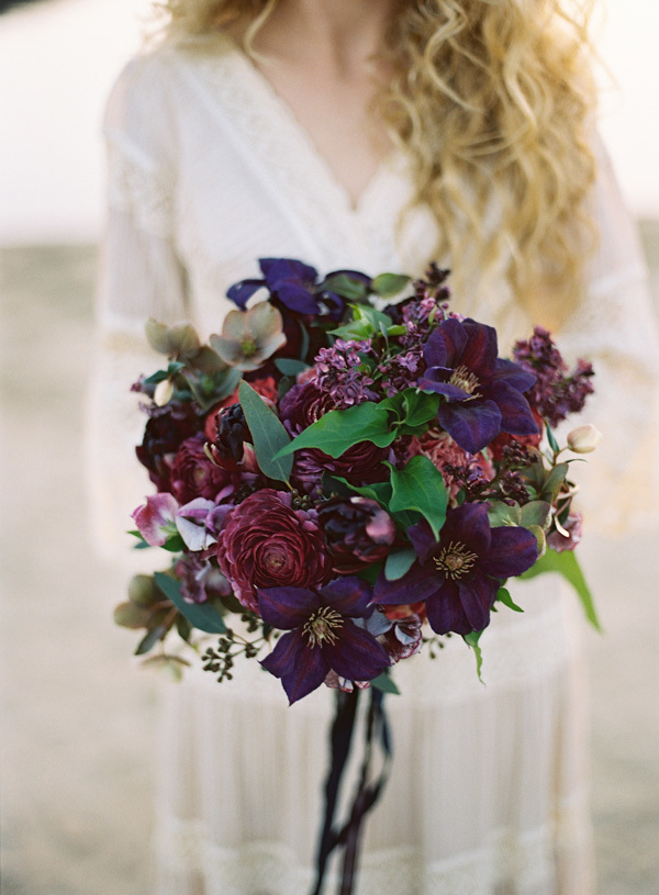 Jewel Toned Wedding Bouquets For Glamorous Brides Mywedding