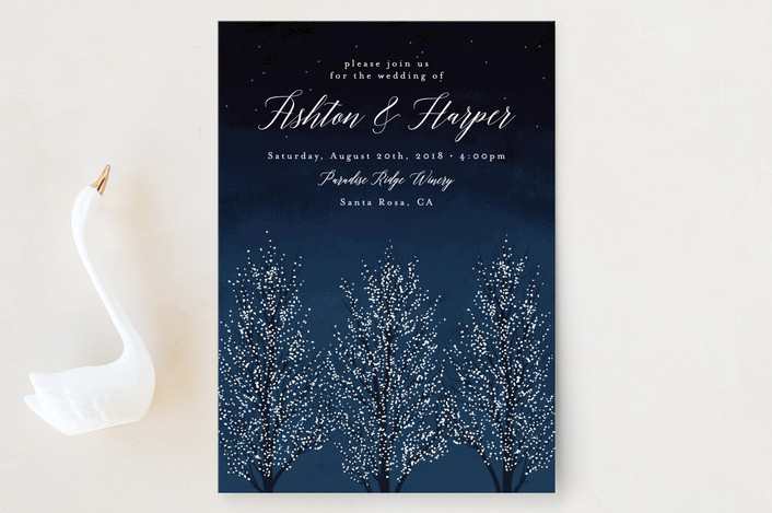 Christmas tree invite