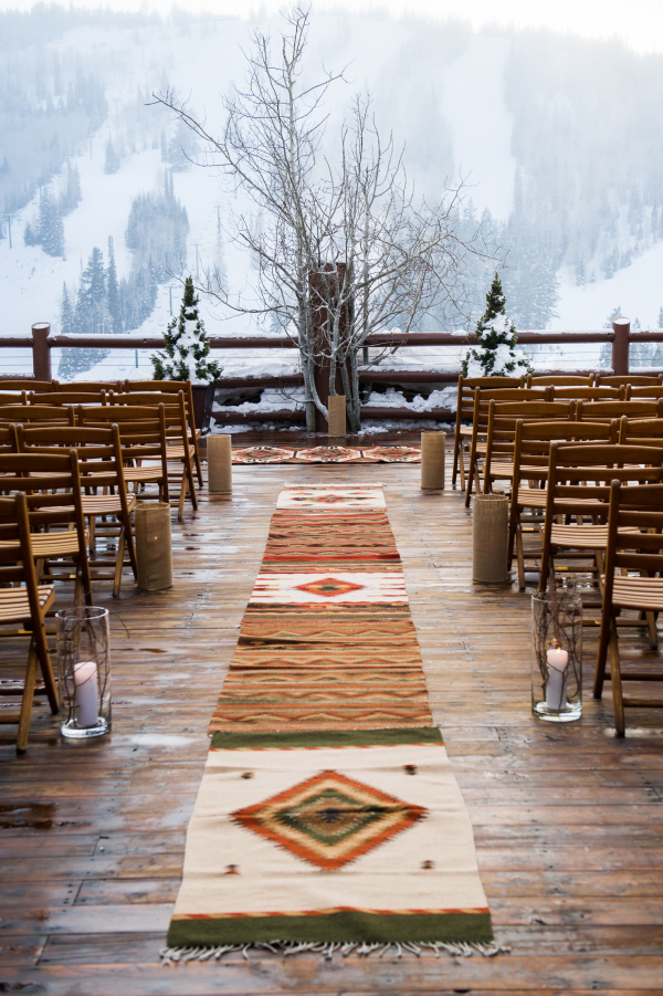 Mountain Wedding Ceremony by Cory Ryan Photography