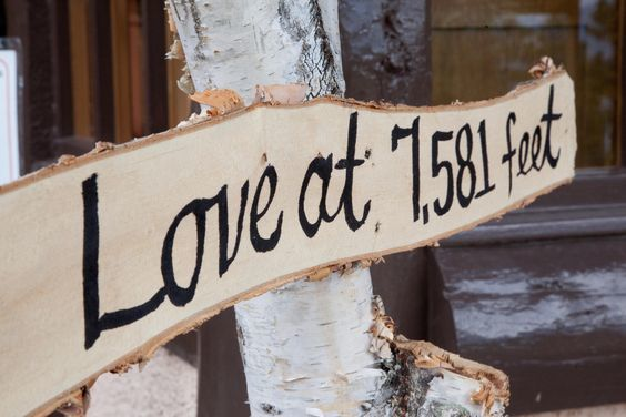Modern Wedding Sign by This Modern Life Photographers