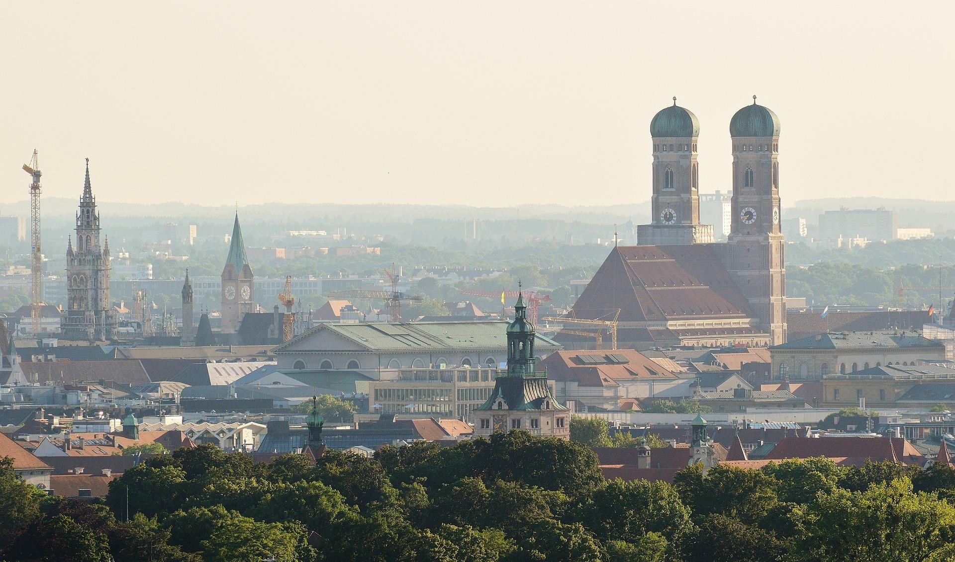 Munich, Germany skyline