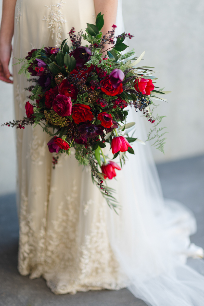 Gorgeous Red Wedding Bouquets Mywedding