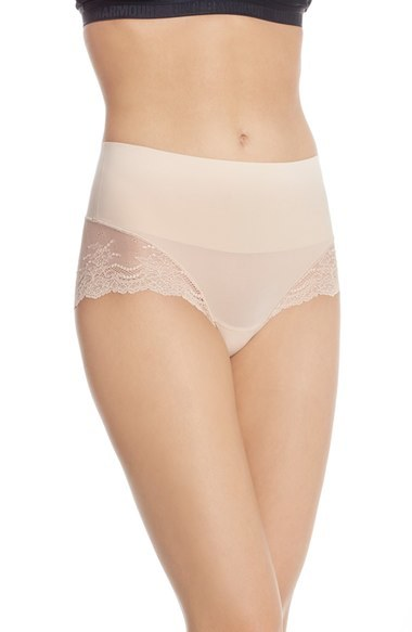 'Undie-Tectable' Lace Hipster Shaper Briefs