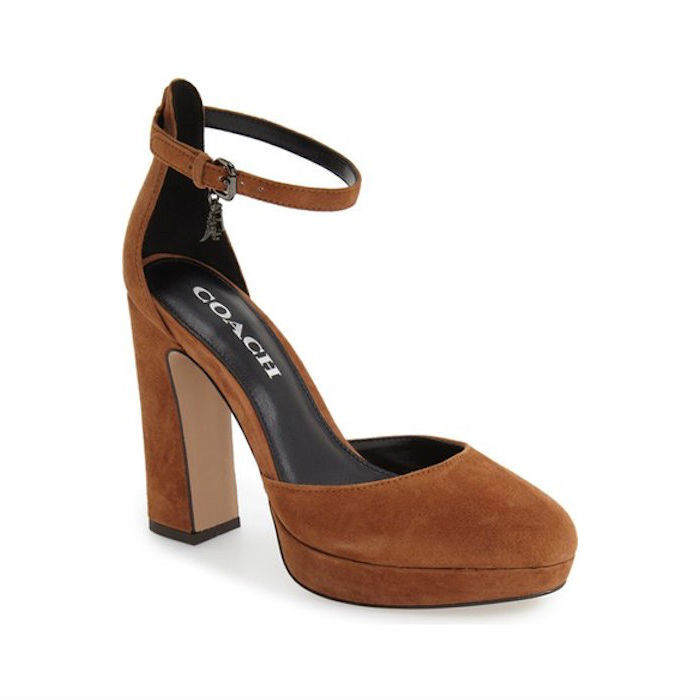 Coach Chrystie Ankle Strap Pump