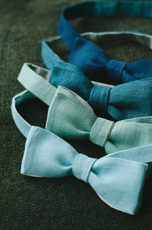 Ombre Bow Ties