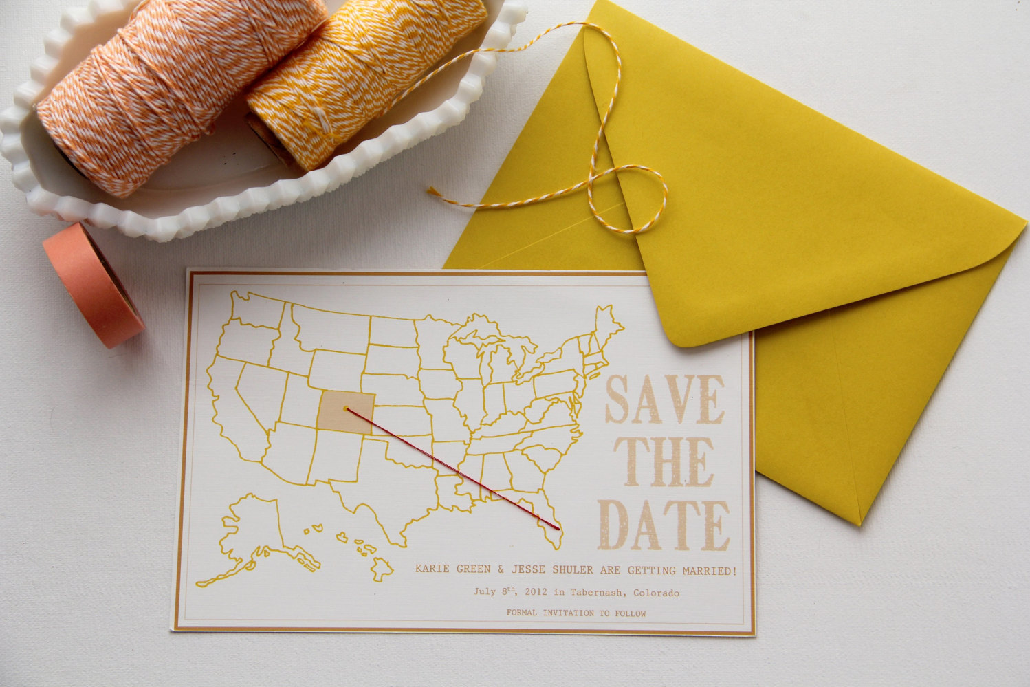 US save the date