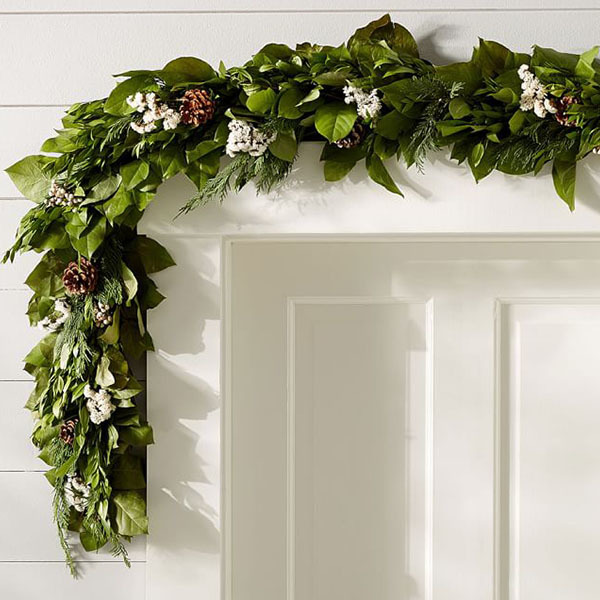 Live Fresh Winter Garland