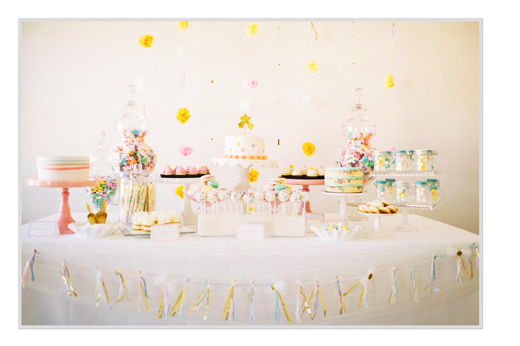Preppy Dessert Table