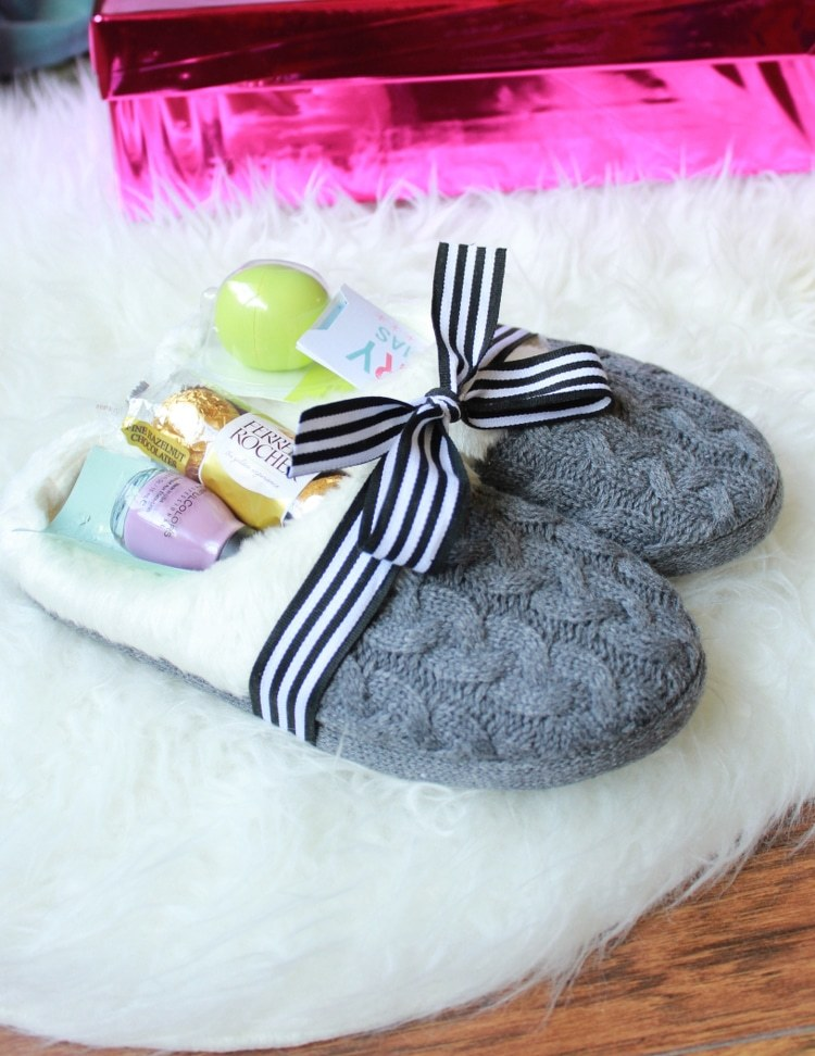 Cozy Slippers Gift Idea by Pretty Providence