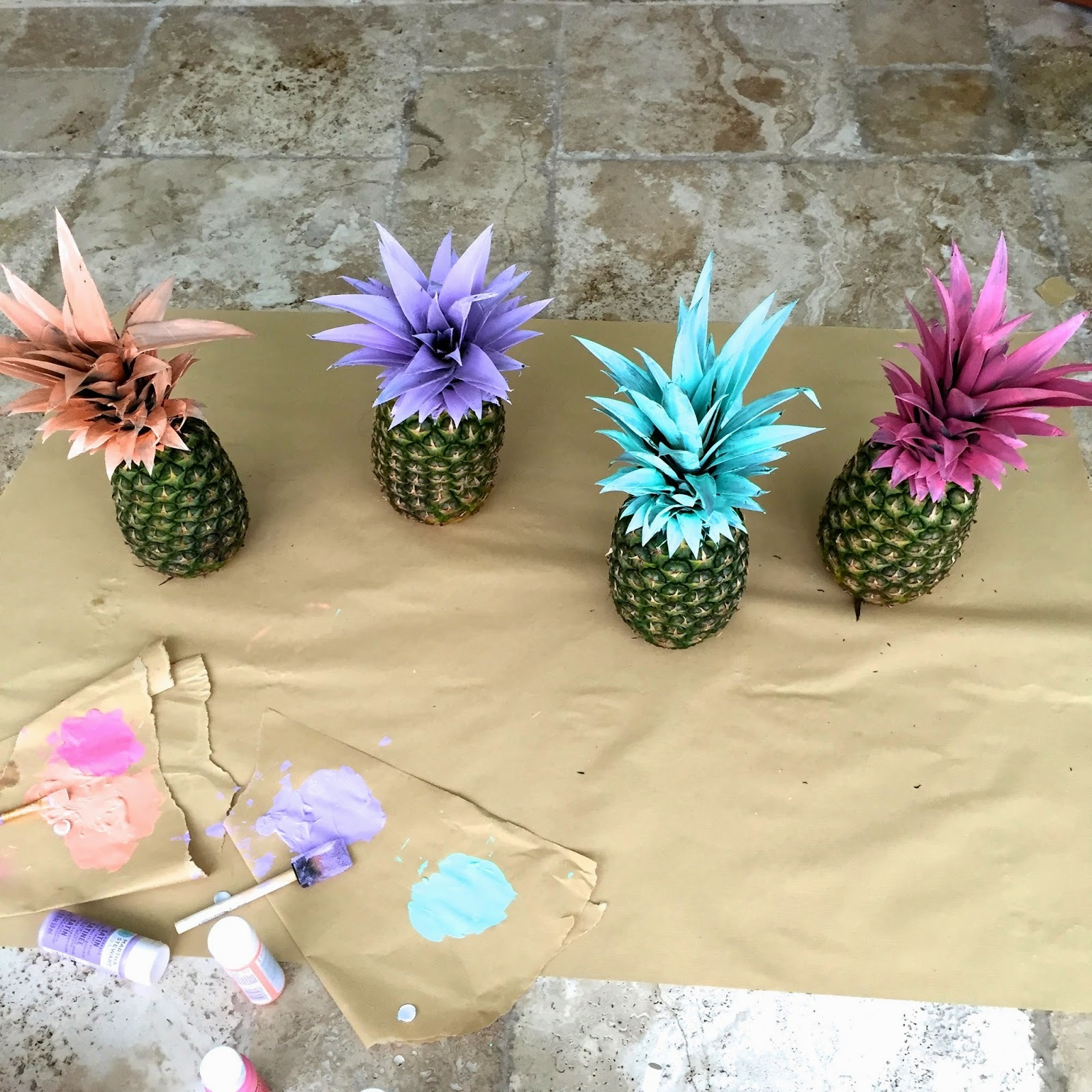 Pineapple Party Decor by Pursuit of Shoes