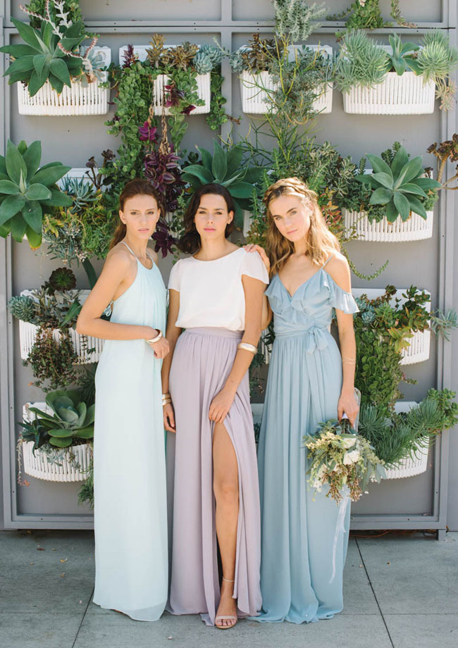 Mismatched Bridesmiad Dresses
