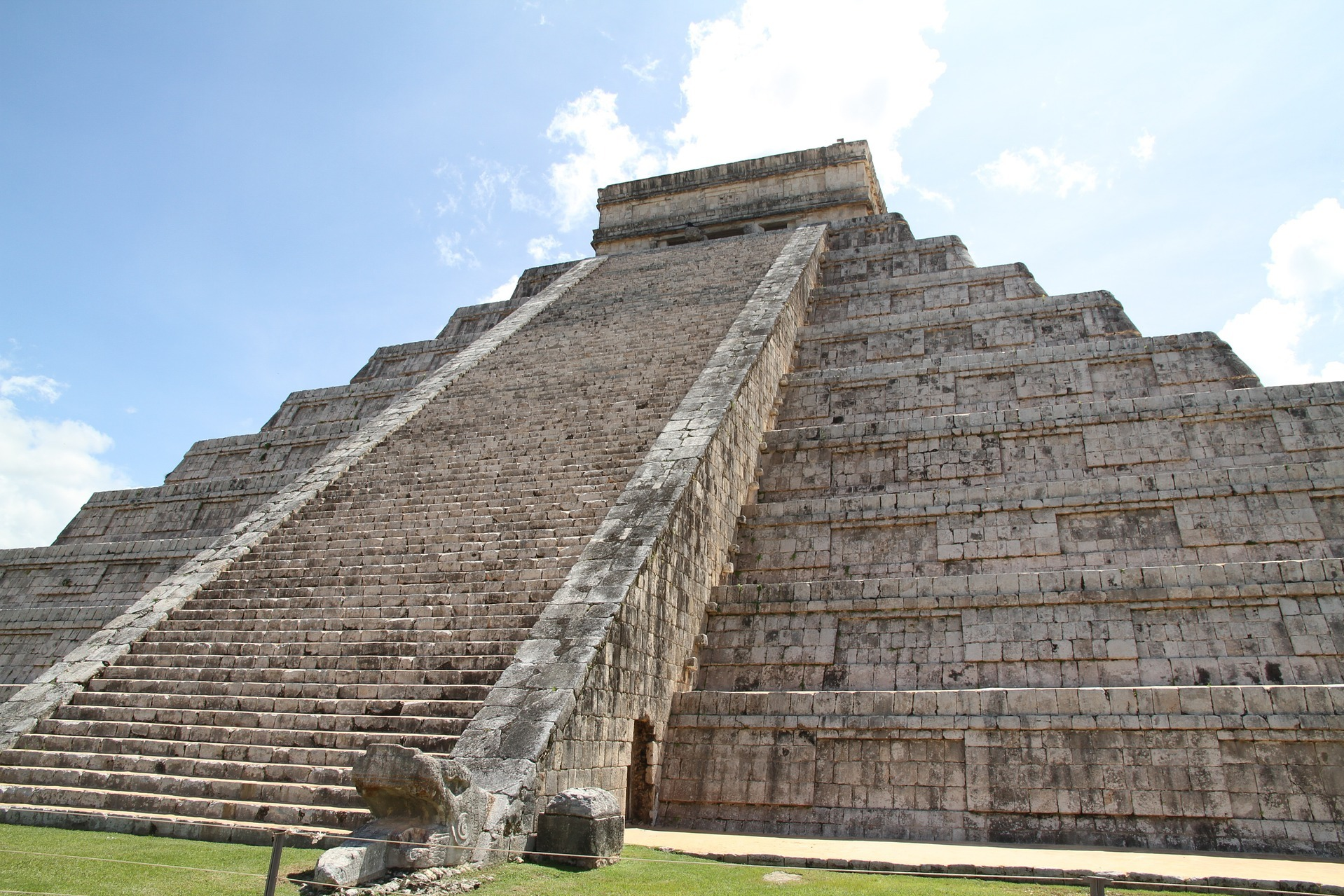 Yucatan, Mexico's Chichen Itza steps
