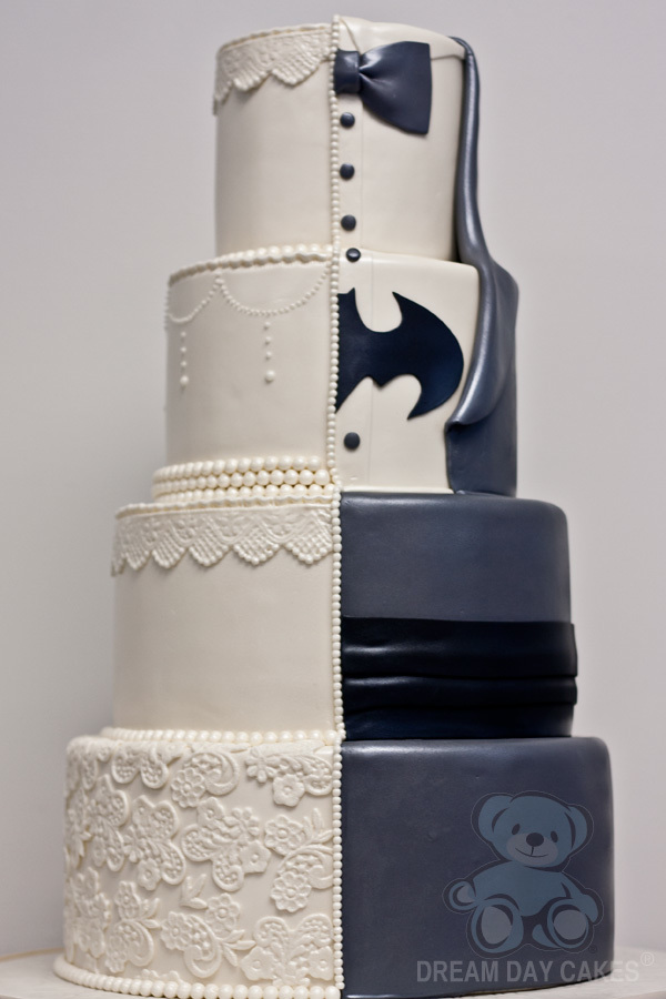 themed and decorated wedding cakes