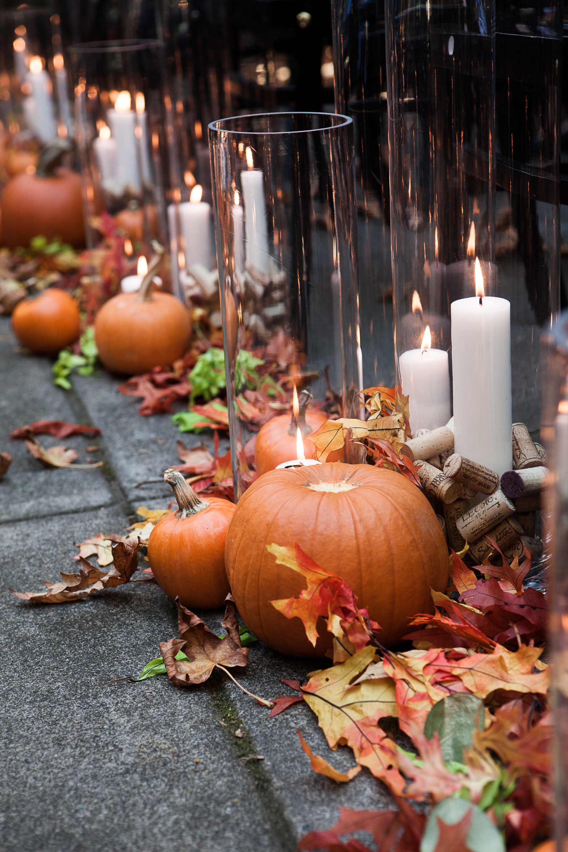 Pumpkin Ceremony Decor