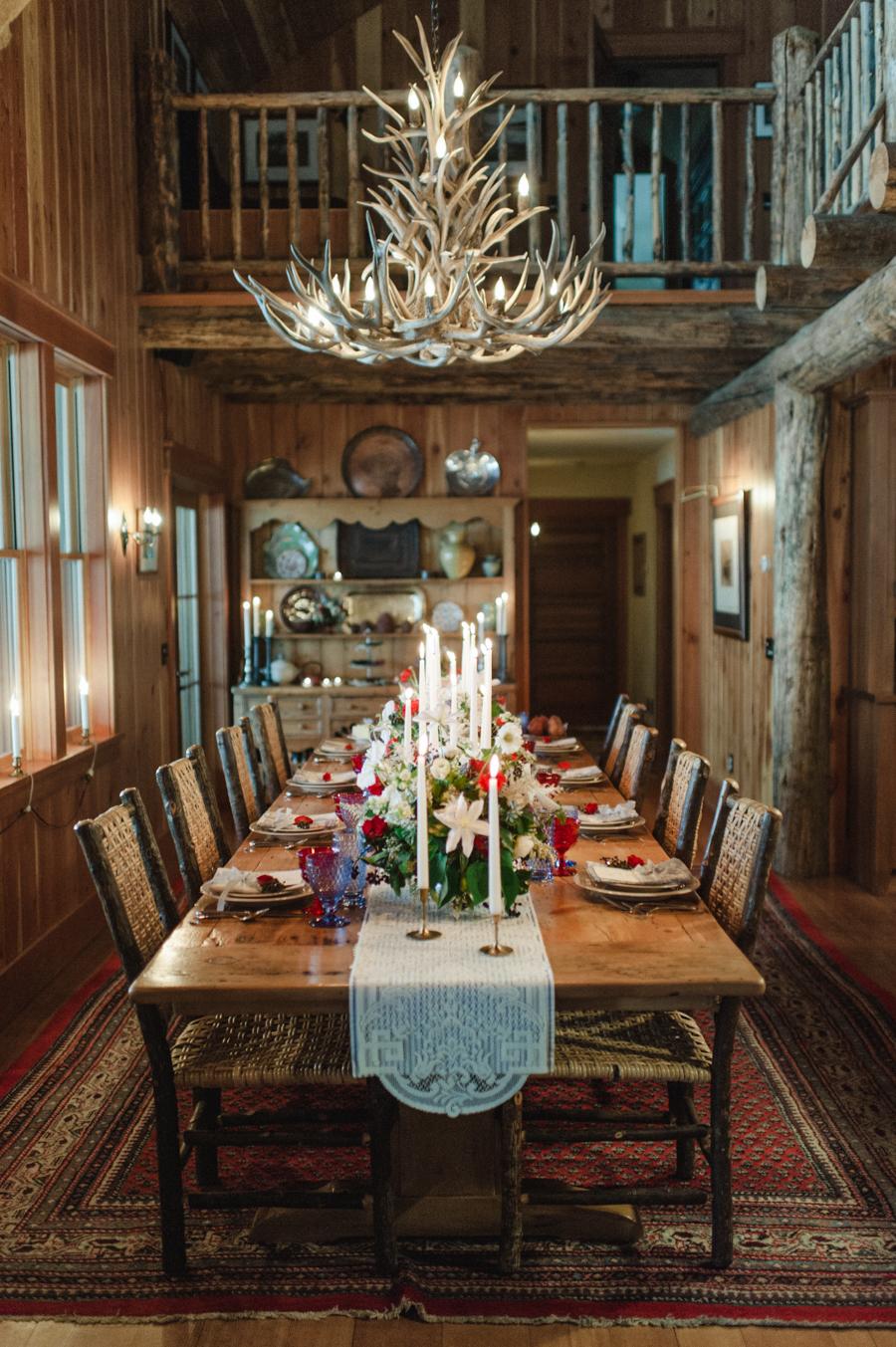 Ethereal Cabin Wedding Inspiration - mywedding