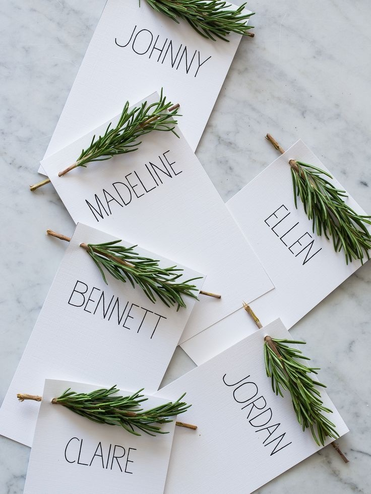 Simple with Rosemary