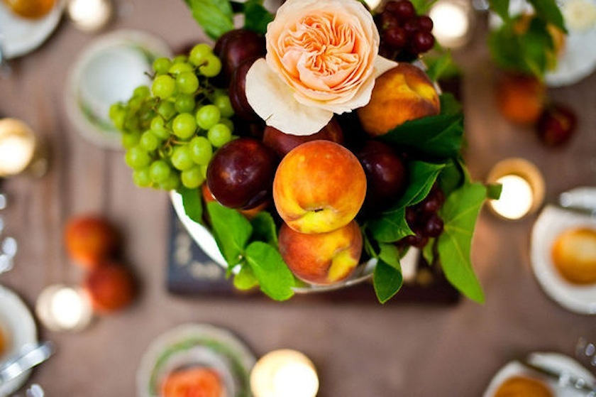 Stone Fruit Centerpiece