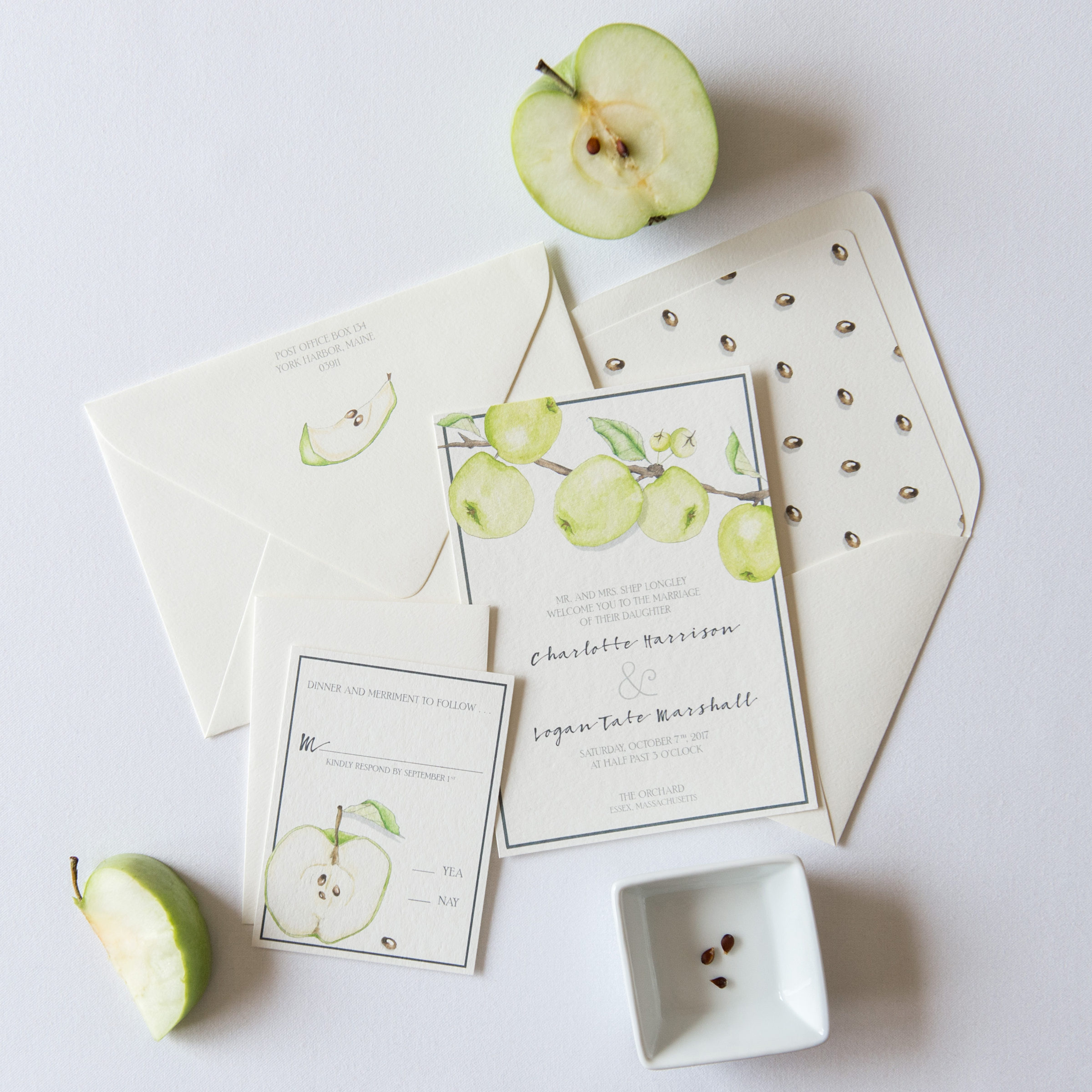 Fruit-Inspired Stationery
