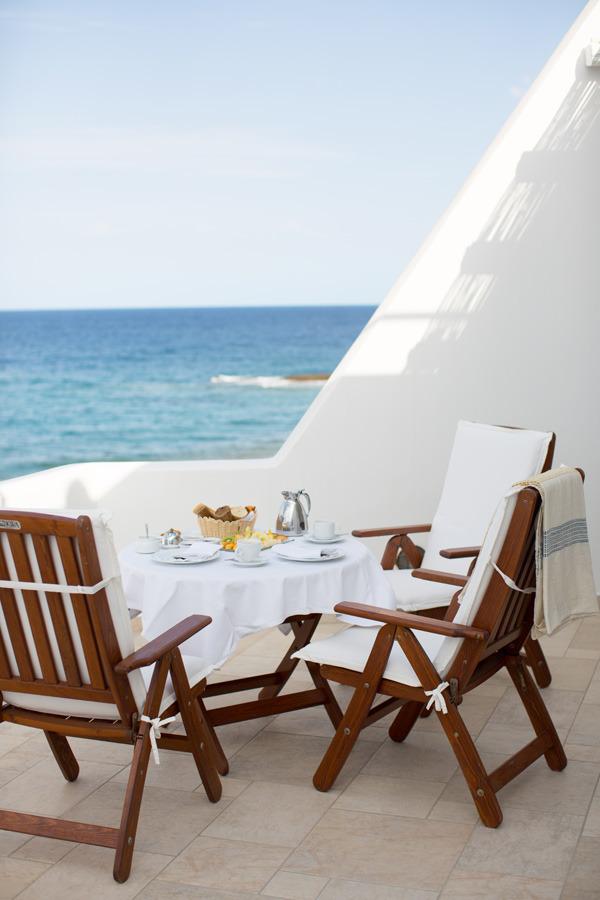 Milos, Greece boat cafe