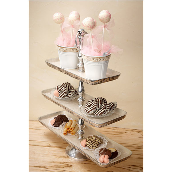 3-Tier Metal Fruit Stand