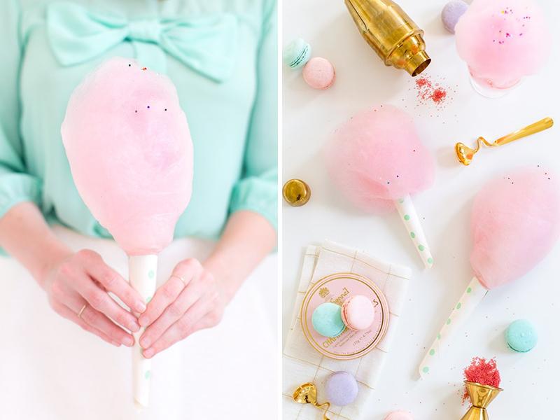 wedding cotton candy