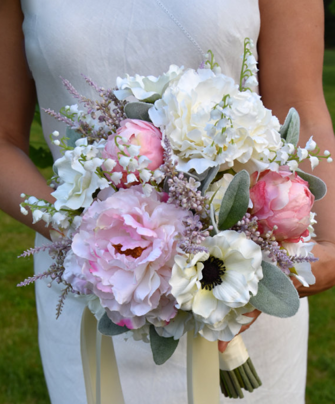 faux bridal bouquet