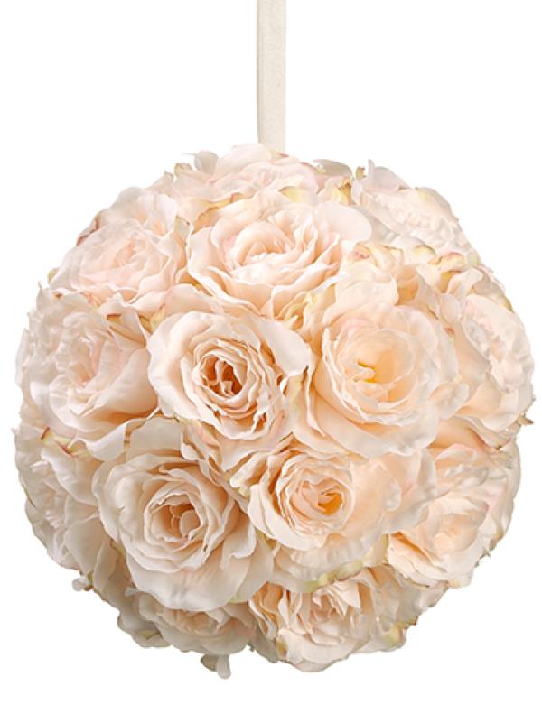 faux flower ball